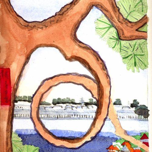 Arbre d'Hiroshige - Melissa