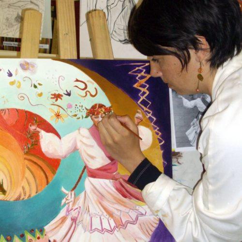 peinture à l' huile
