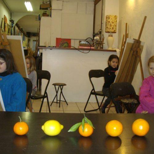 Enfants de 6 à 8 ans Ateliers dessin peinture